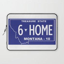 Montana Home - Bozeman, Gallatin County Laptop Sleeve