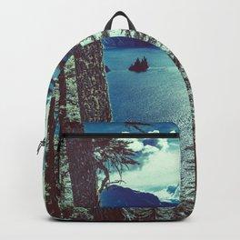 Crater Lake Vintage Summer Backpack