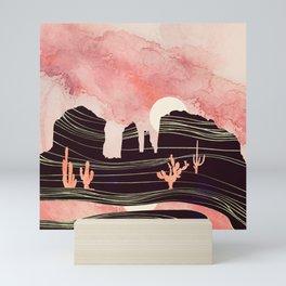 Rose Desert Mini Art Print