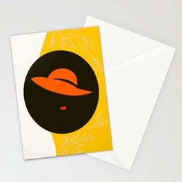 Orange Hat Stationery Cards