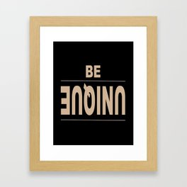 Unique Framed Art Print