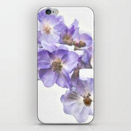 Rosa canina - watercolour iPhone Skin