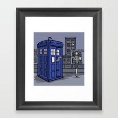 PaperWho Framed Art Print