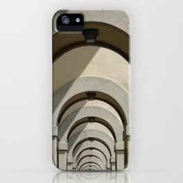 Florence archways iPhone Case