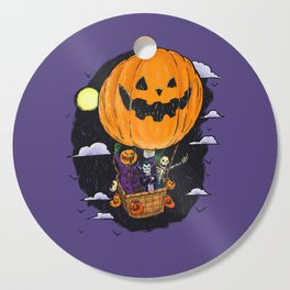 Pumpkin Hot Air Balloon Cutting Board