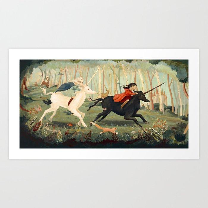 The Unicorn Dream by Emily Winfield Martin Kunstdrucke