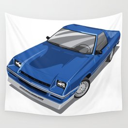 Rampage Blue Wall Tapestry