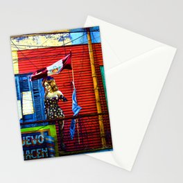 The Warehouse, La Boca, Buenos Aires Stationery Cards