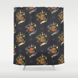 Booooook! (It's Just a Bunch of Hocus Pocus) Shower Curtain