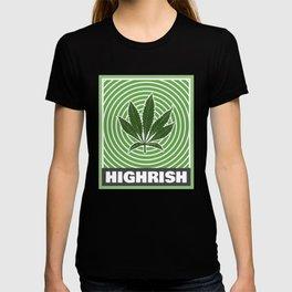 Highrish Trippy St Patricks Day for Stoners T-shirt