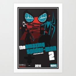 Amazing Spider-man 2 Poster Art Print