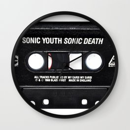 Sonic Youth Sonic Death Wall Clock