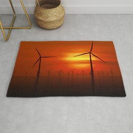 Clean Power (Digital Art) Rug