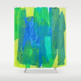 Abstract No. 504 Shower Curtain