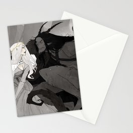 Krampus and Perchta II Stationery Cards