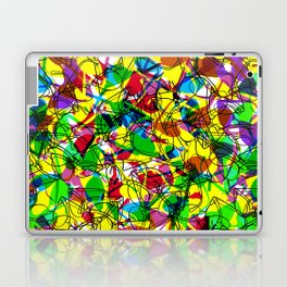 Clubmaster Shuron Glasses Party Laptop & iPad Skin