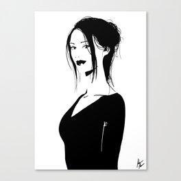 Brunette Canvas Print