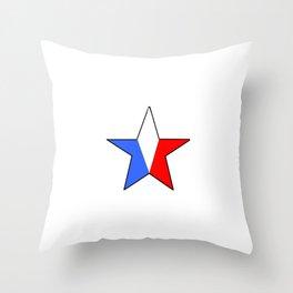 Flag of France 14- France, Français,française, French,romantic,love,gastronomy Throw Pillow