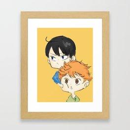 KageHina Framed Art Print