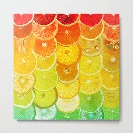 Fruit Madness - Citrus Metal Print