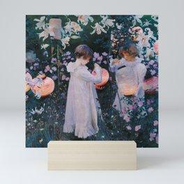 Carnation, Lily, Lily, Rose - John Singer Sargent Mini Art Print