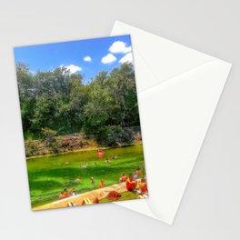 Barton Springs at Zilker Park - Austin, Texas Stationery Cards