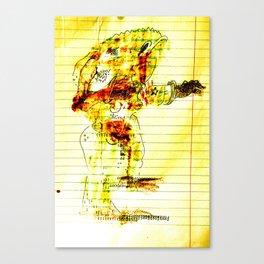 Reach-out Canvas Print