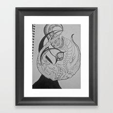 If the Moon were an Artist  Framed Art Print