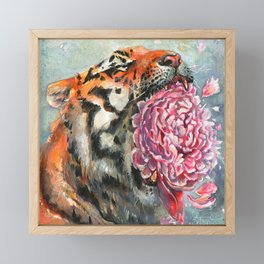 Roar Framed Mini Art Print