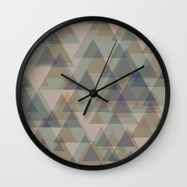 Aesthetics: abstract pattern Wall Clock
