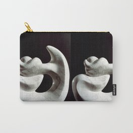 Navel string by Shimon Drory Carry-All Pouch