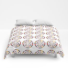 spiral 1-circle,mystical,ring,twist,disc,circular,abstract Comforters