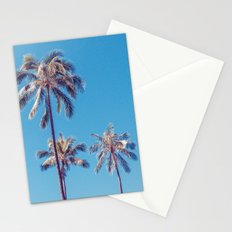 palm tree ver.sunny day Stationery Cards