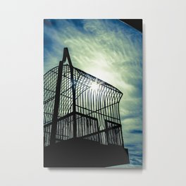 To Catch The Light Metal Print