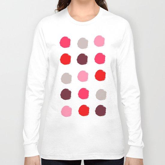 Fancy polka dot  Long Sleeve T-shirt