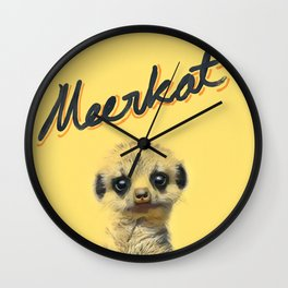 Meerkat | Yellowcard NO.1 Wall Clock
