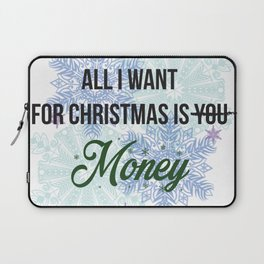 all i want for x-mas is... Laptop Sleeve