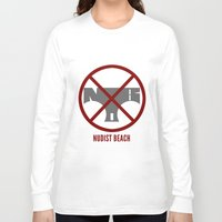 kill la kill Long Sleeve T-shirts featuring Kill la Kill: Nudist Beach by Paranormal Standard