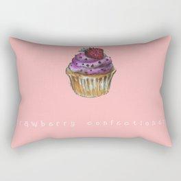 Cupcake confectionery. Rectangular Pillow