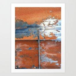 Rust and Metal Art Print
