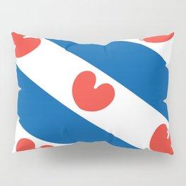 Flag of Friesland Pillow Sham