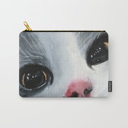 Watercolor Cat Carry-All Pouch