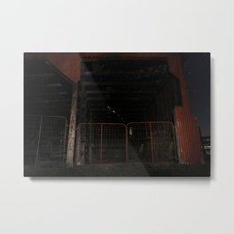 Old Red Barn III Metal Print