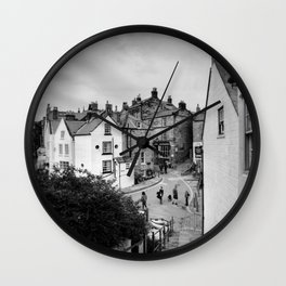 Robin Hoods Bay Wall Clock
