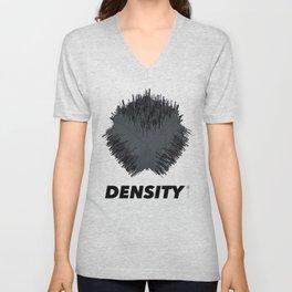 {Density} Unisex V-Neck