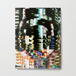 The Interference Metal Print