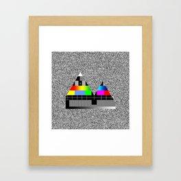 Reykjavik Boulevard #04 Framed Art Print