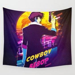 cowboy bebop retro Wall Tapestry