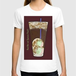 Root Beer and SpuMOONi (spumoni) Float T-shirt