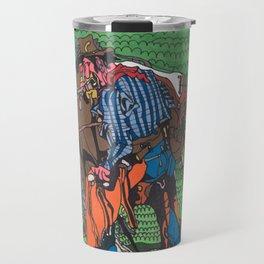 One of a Kind Cowboy Travel Mug
